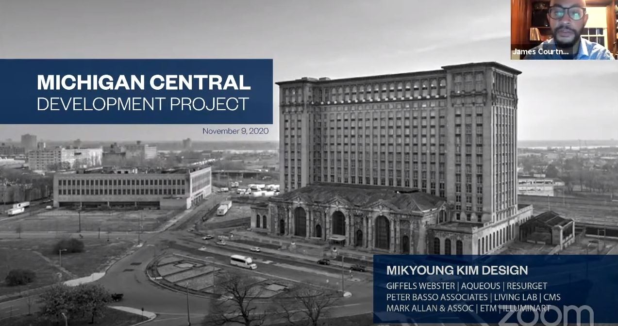 November 9th Zoom Recording of the Michigan Central Listen and Learn Session with Mikyoung Kim