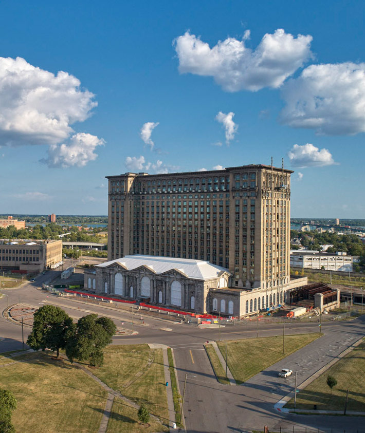 Michigan Central Station Current State