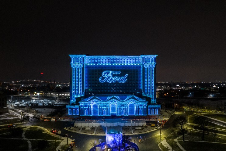 MCS Winter Festival Ford's Michigan Central Station Winter Festival is expected to draw a large crowd despite the cold weather to enjoy a 3D light show on the iconic building, a night market and a first-of-its-kind exhibition of train station artifacts curated by the Detroit Historical Society.
