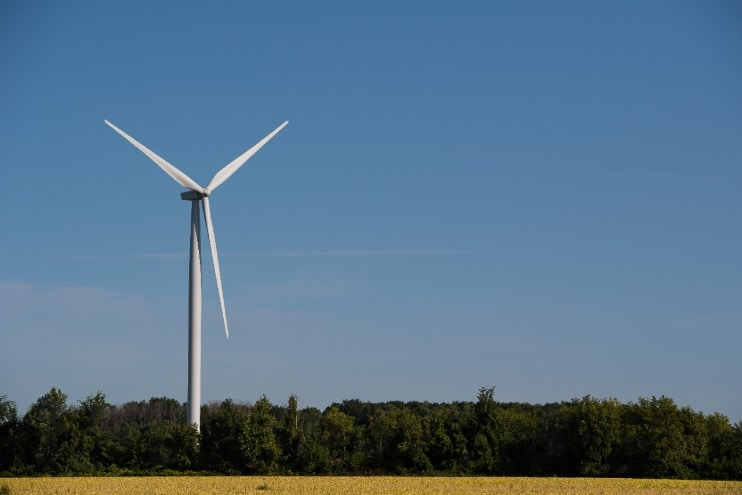 Michigan Wind Energy Ford Motor Company is announcing the procurement of 500,000 megawatt hours of locally sourced Michigan wind energy through DTE's MIGreenPower program. DTE Energy's Pinnebog Wind Farm pictured.