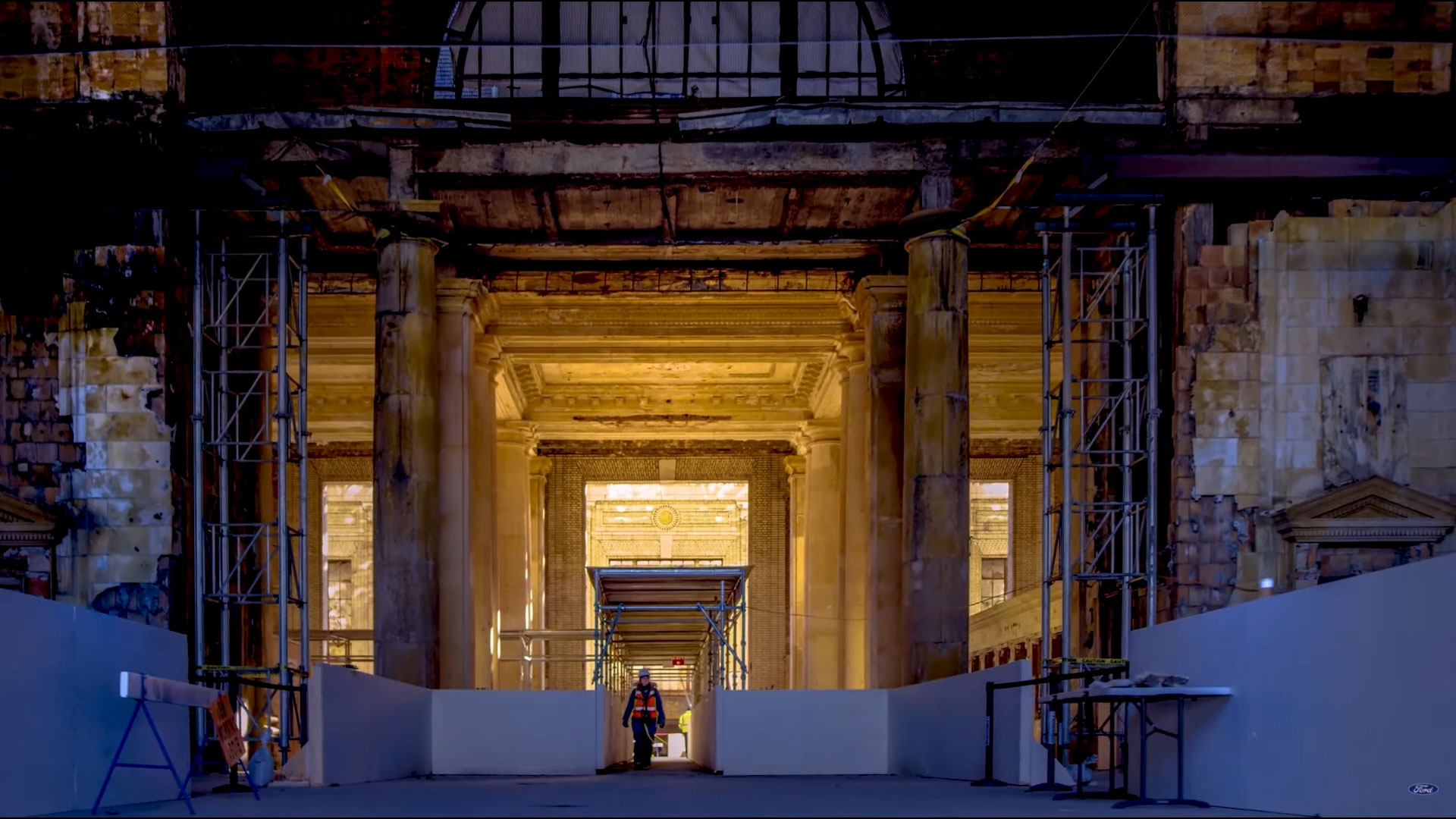 Hear the story of Michigan Central Station