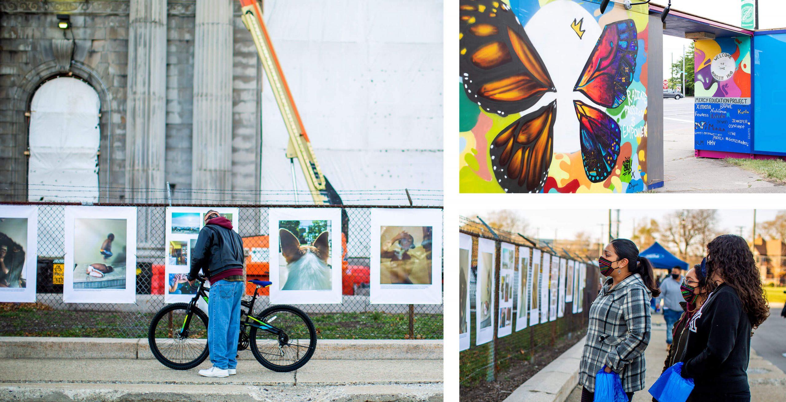 art exhibits at Michigan Central
