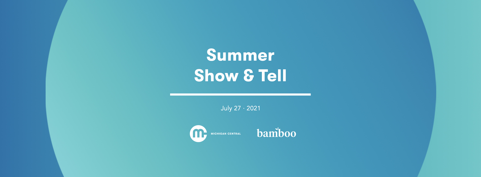 summer show and tell